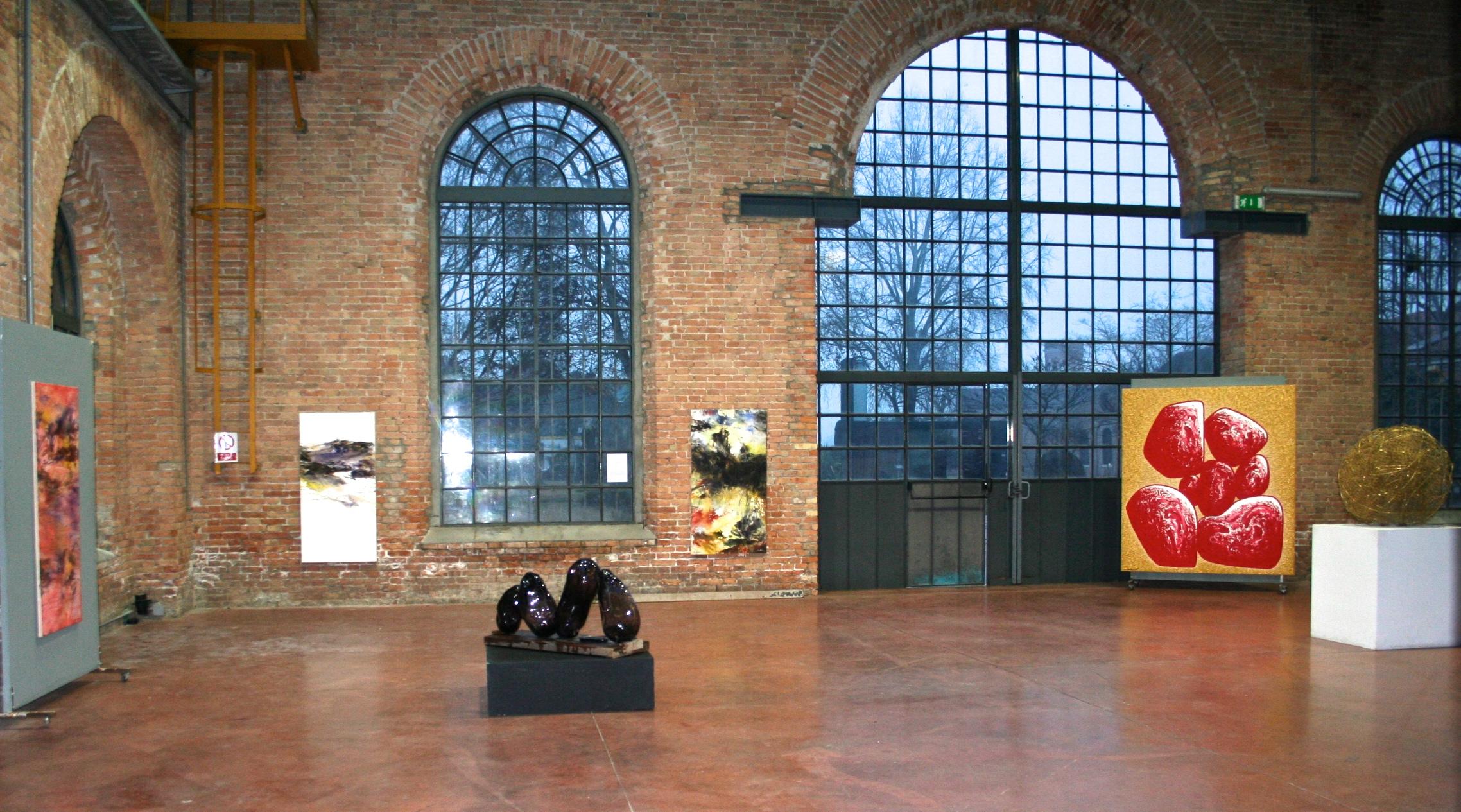 "Exhibition ""My venetian gold"" in Fondation Thetis, Venice, 2017"