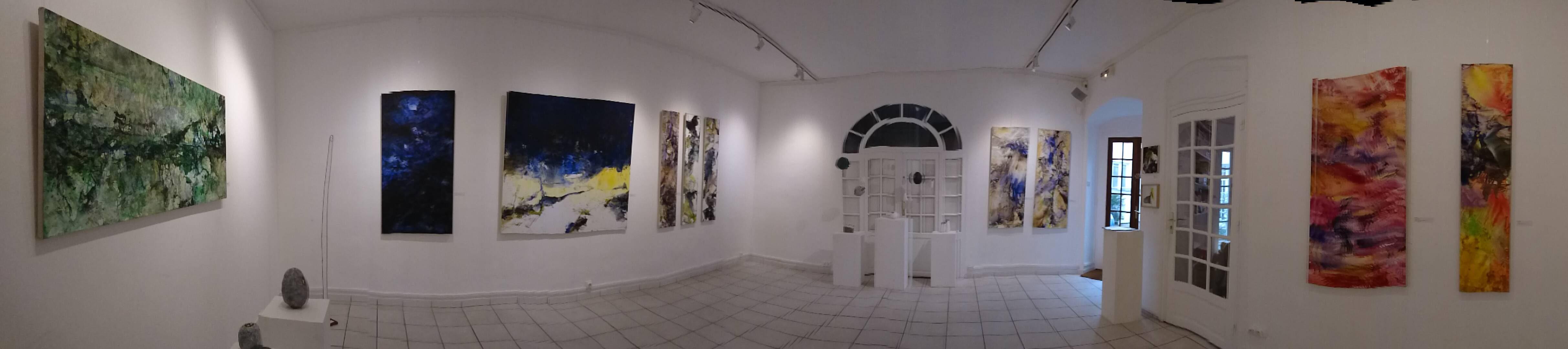 """Yu Zhao, Exhibition """"Papier 2"""", Espace Chistiane Peugeot, Paris, 2017"""