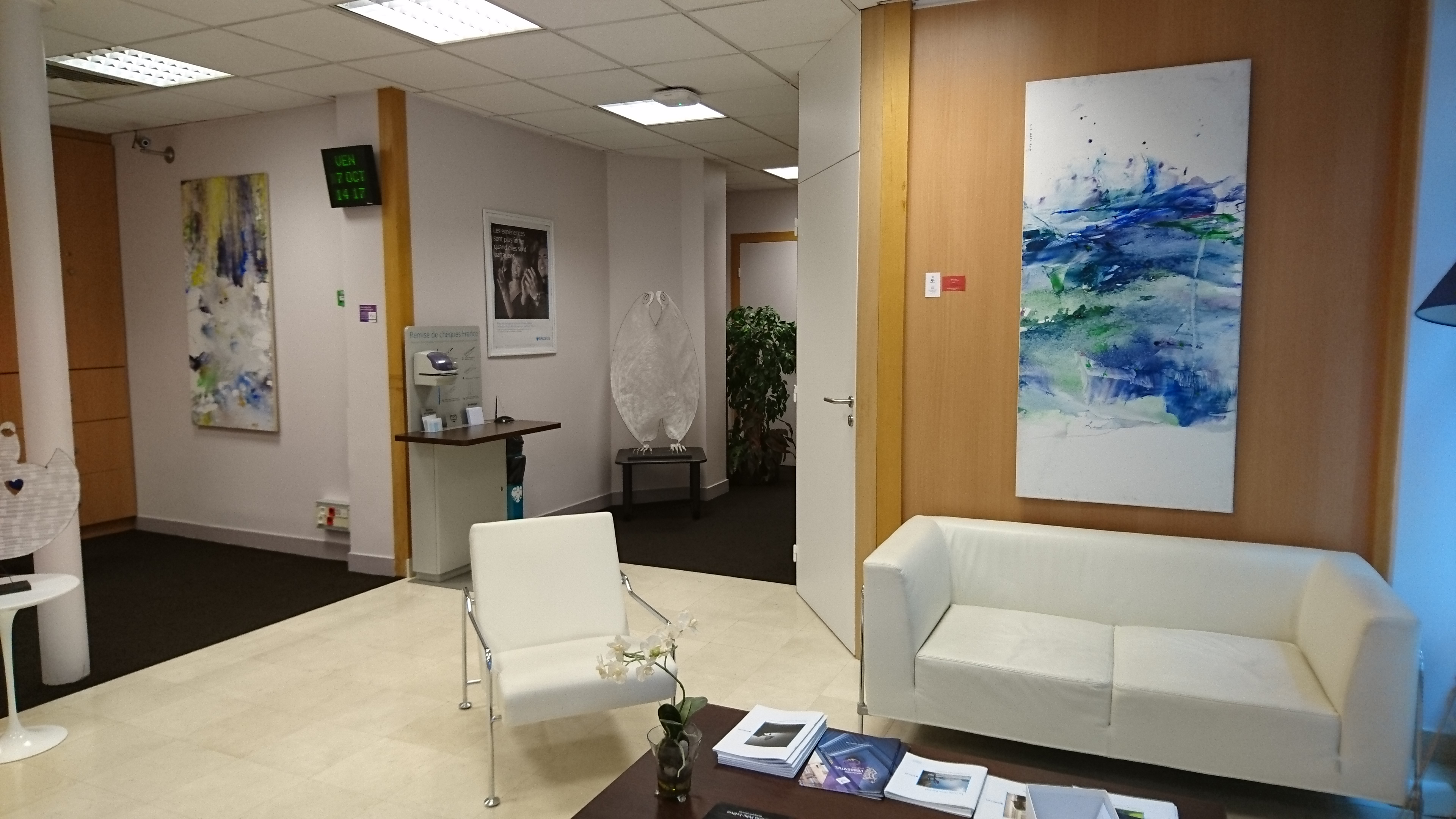 Exhibition in Barclays Bank - Levallois Perret, 2016